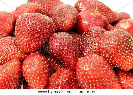Heap of strawberries