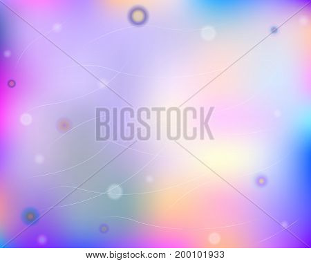 Colorful abstract background with circles and lines for decoration