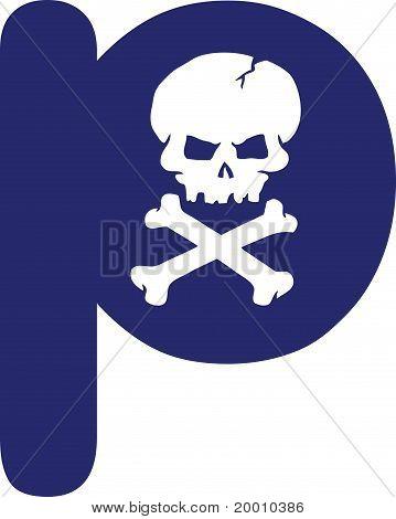 Skull Letter