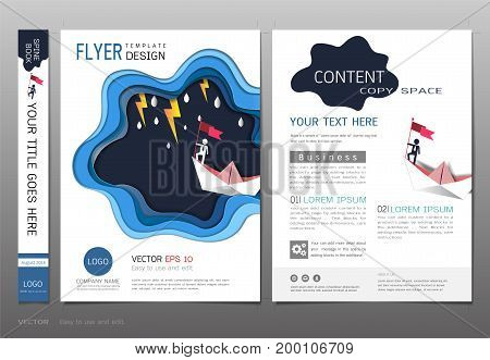 Covers design template, Inspiration for business and leadership concept, Use in brochure, annual report, flyer - leaflet, magazine, poster, corporate presentation, portfolio, banner, website.