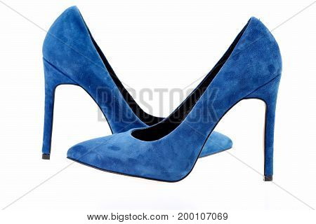 Female Formal Footwear As Fashion And Beauty Concept