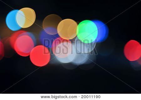 abstract colorful defocused circular facula