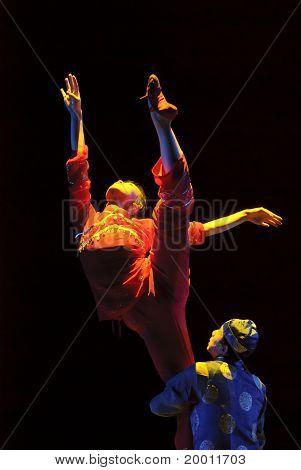 chinese folk dancers