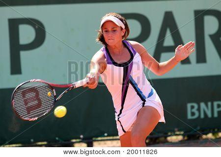 Eirini Georgatou (gre) At Roland Garros 2011