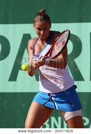 Liana Ungur (rou) At Roland Garros 2011
