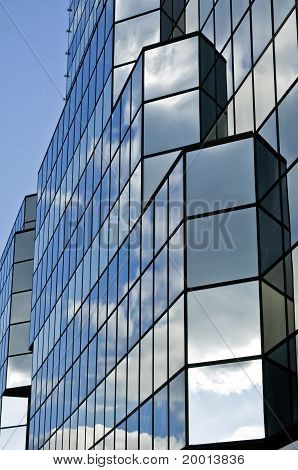 Glass Office Building.