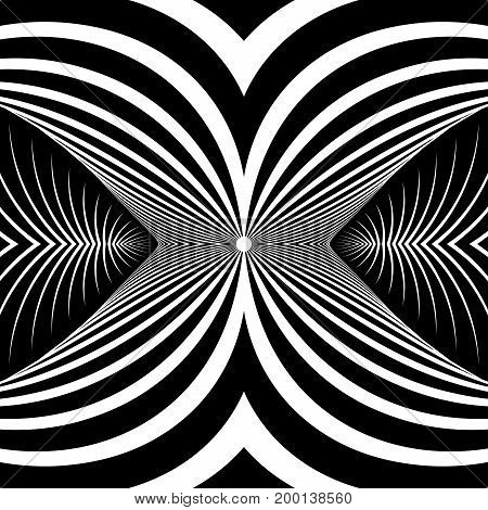 Abstract graphic design. Decorative pattern. Vector art.