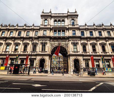 Burlington House In London (hdr)