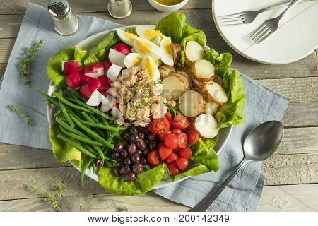 Homemade French Salad Nicoise