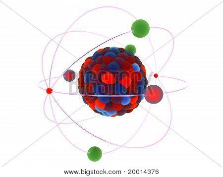 Proton of molecular model