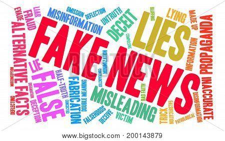 Fake News Word Cloud