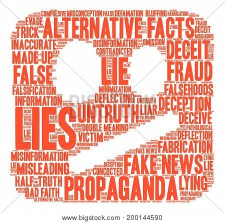 Lies Word Cloud