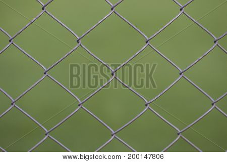 Views From The Viewer Through A Steel Mesh