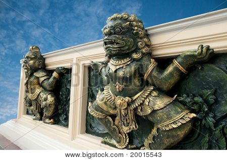 Giant sculpture