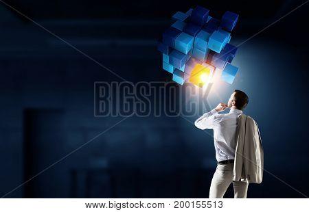 Innovative technologies integration. Mixed media . Mixed media