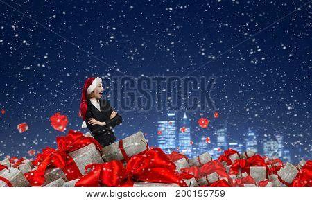 Christmas corporate presents. Mixed media . Mixed media