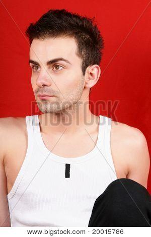 Young Man In Sportswear