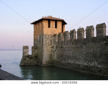 Scaligero Castle, Sirmione, Italy