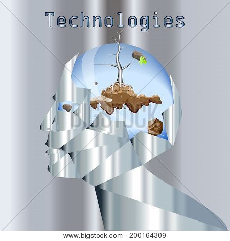 Abstraction on the theme of technology development, Technology