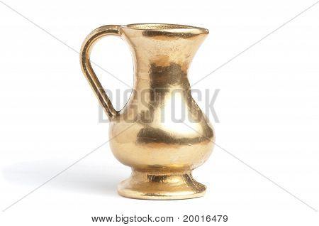 Antique Brass Jug