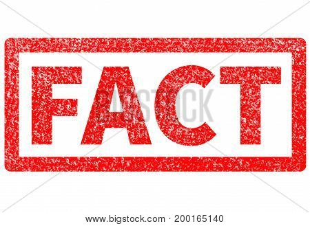 fact red rubber stamp on white background. fact sign.