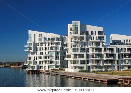 flat blocks building