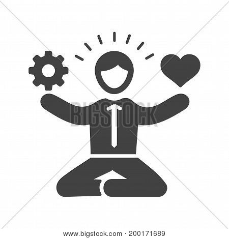 Skills, multitasking, stress icon vector image. Can also be used for soft skills. Suitable for mobile apps, web apps and print media.