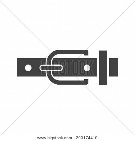 Belt, leather, buckle icon vector image. Can also be used for Mens Accessories. Suitable for web apps, mobile apps and print media.