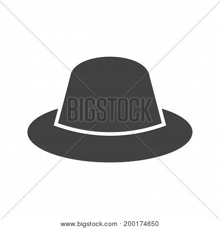 Hat, cowboy, head icon vector image. Can also be used for Mens Accessories. Suitable for mobile apps, web apps and print media.