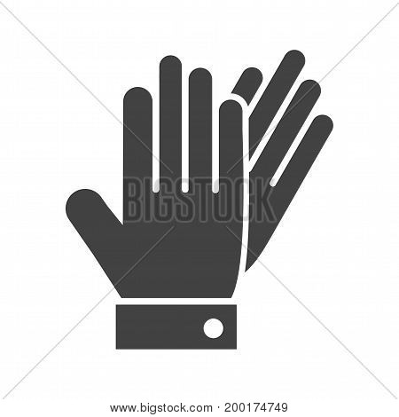 Leather, gloves, pair icon vector image. Can also be used for Mens Accessories. Suitable for mobile apps, web apps and print media.