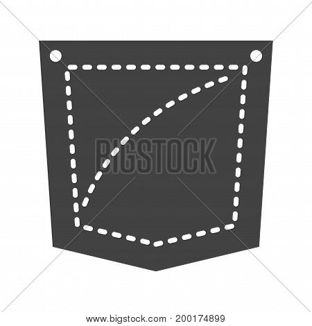 Pocket, square, suit icon vector image. Can also be used for Mens Accessories. Suitable for use on web apps, mobile apps and print media.