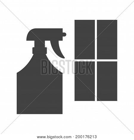 Cleaning, window, agent icon vector image. Can also be used for Cleaning Services. Suitable for use on web apps, mobile apps and print media.