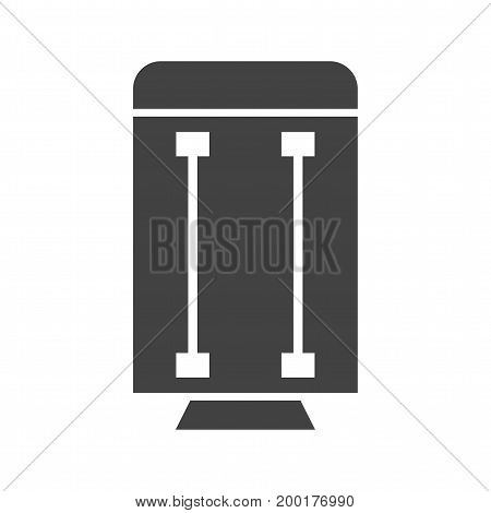 Heater, hot, carbon icon vector image. Can also be used for Climatic Equipment. Suitable for mobile apps, web apps and print media.