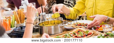 Organic Food Dinner