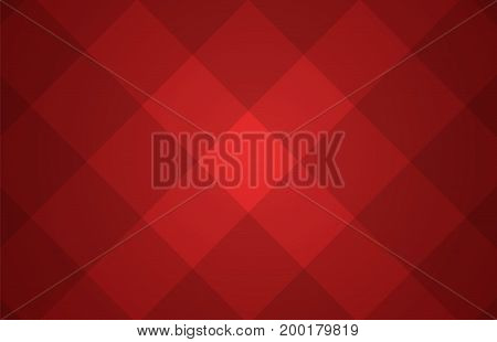 Red Abstract Vector Background With A Pattern Of Squares