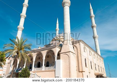 Mosque in Manavgat is the largest mosque on the Antalya coast