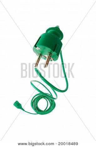 Power plug to power cord