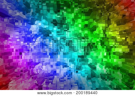 Techno Abstract Background.