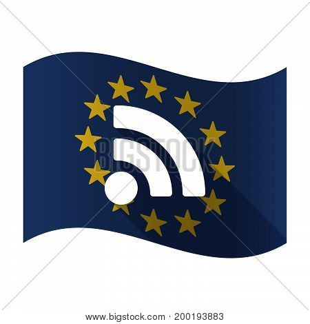 Isolated Eu Flaw With An Rss Sign