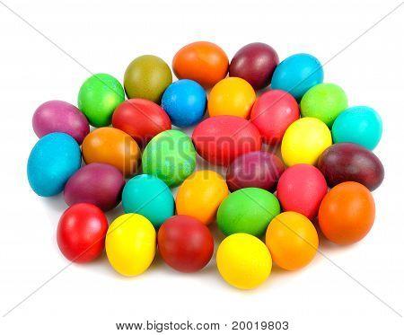 Heap Of Easter Eggs