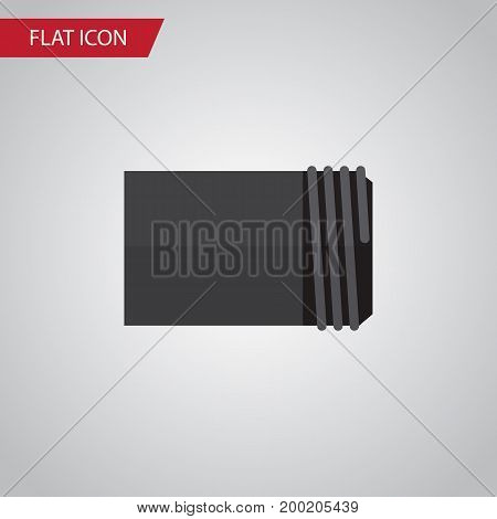 Tube Vector Element Can Be Used For Tube, Water, Pipe Design Concept.  Isolated Pipe Flat Icon.