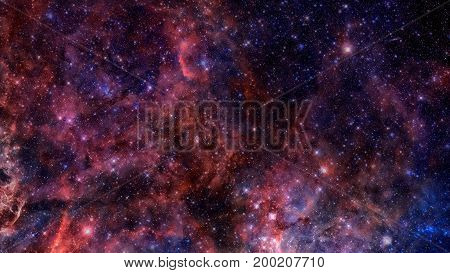 Natural Background, Abstract Space. Elements Of This Image Furnished By Nasa.
