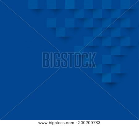 Blue square geometric texture background Abstract square geometric texture.banner background web design for infographics business finance.