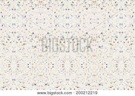 pattern terrazzo floor or marble beautiful old texture polished stone wall for background