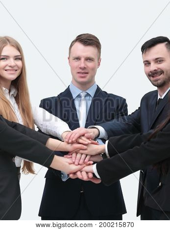 closeup.business team shows its unity