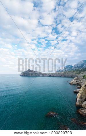 Novyi` Svet Crimea day trekking / beauty of nature in daylight