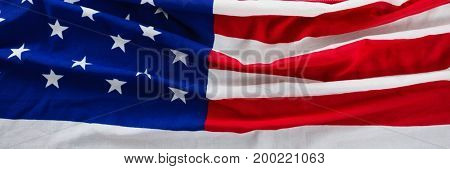 Digital composite of USA flag