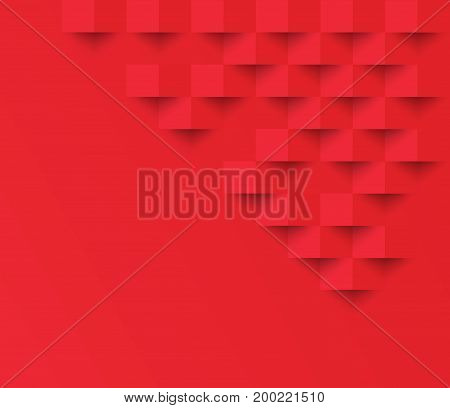 Red square geometric texture background Abstract square geometric texture.banner background web design for infographics business finance.