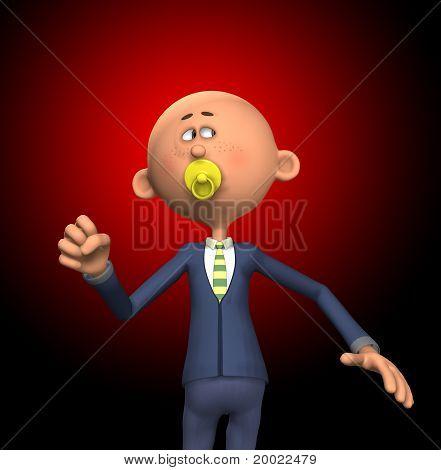 Childish Businessman