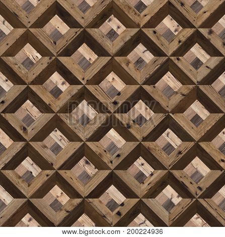 Seamless parquet wood natural france classic pattern for CG